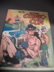 1975 San Diego Comic-Con Program book  Will Eisner