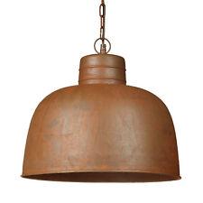 Relaxdays Lampe À suspension Luminaire Abat jour en forme de cloche Métal...