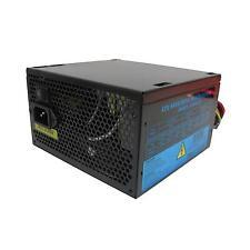 Netzteil 500W ATX Schaltnetzteil, 12cm Silent schwarz Fan für PC Computer