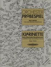 Orchestral Test Pieces for clarinet; Miscellaneous, Default setting - EP8661