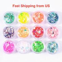 New Rainbow Confetti Set - Jewelry Making, Resin Cast, Handmade - Ship from US