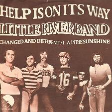 "LITTLE RIVER BAND – Help Is On It's Way (1977 VINYL SINGLE 7"" DUTCH PS)"