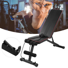 New listing Fitness Adjustable Bench Foldable Home Gym Incline Decline Dumbbell Bench 330lbs
