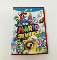 Super Mario 3D World for Nintendo Wii U ~ Complete ~ Fast Shipping TESTED