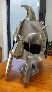 Ancient Armour Medieval Gladiator Maximus Greek Roman Movie Helmet