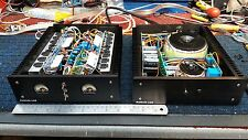 Deluxe 350 Watt Stereo Power Amplifier. Professionally Built. With VU Meters