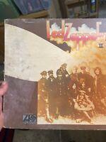 """led zeppelin II vinyl record. Lp. """"RL"""" cut."""