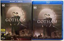 DC GOTHAM THE FIFTH & FINAL SEASON BLU RAY 2 DISC SET + SLIPCOVER SLEEVE BUY IT