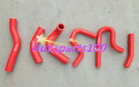 Silicone Radiator & Heater Hose for Suzuki Jimny SN413 1.3 M13A 2000-2011 RED