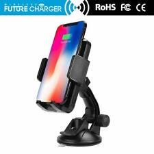 Induktive Ladestation Auto für iPhone Samsung Qi Wireless Charger Kfz Ladegerät
