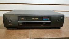Samsung Vr5559 4-Head Vcr - No Remote - Tested Works Great!
