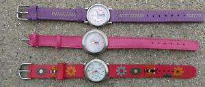 Lot de 3 montres Enfant Fille- Calypso - Aqua by Aleris - Flower Fairies TM (Edi