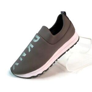 DKNY Womens Jaydyn **Amputee~Left Shoe Only **Gray Sneaker Metallic Logo 6.5 New