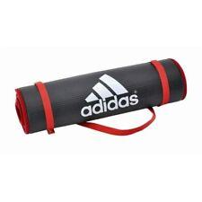 adidas Training Mat 183x61x1cm Fitness Matte Gymnastik Workout Tagegurt grau