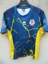Maillot rugby Lycée Agricole TOULOUSE AUZEVILLE porté n°3 ERREA shirt moulant XL