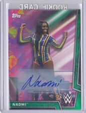 2018 Topps WWE Women's Division Naomi /150 Auto GREEN