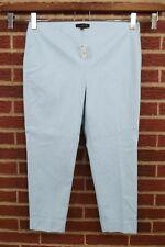 NEW Talbots Womens Capri Pants Size 12 12P Petite Blue Crop Cropped NWT