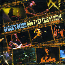 SPOCK'S BEARD - DON'T TRY THIS AT HOME: LIVE NEW CD