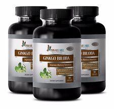 Antioxidant - GINKGO BILOBA EXTRACT 120mg - Bottles Ginkgo Biloba Extract 3B