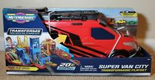Micro Machines 2020 Super Van City Large Transforming Playset & 3 Exclusive Cars