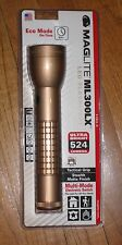 3rd GENERATION MAGLITE 2-D LED COYOTE TAN Maglight 524 LUMENS TACTICAL GRIP