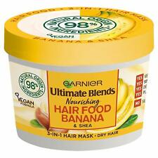 Garnier Fructis Food Banana Regenerating HAir Mask Damaged Rebuildable.390ml