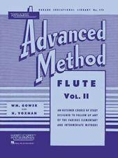 Rubank Hal Leonard Advanced Method - Flute Vol. 2, very good condition