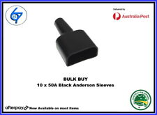 10 x Waterproof 50A Anderson Plug dust cable sheath covers black