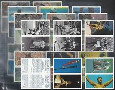 BROOKE BOND-FULL SET- (DOUBLE CARDS) OLYMPIC CHALLENGE 1992 (L20 CARDS) - EXC+++