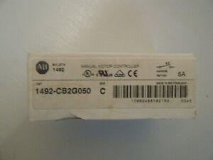 ALLEN-BRADLEY 1492-CB2G050 Series C 5A 2P Manual Motor Controller