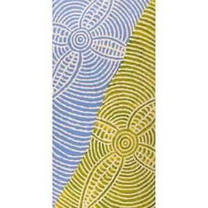 Aboriginal Art - Bush Potato Dreaming 61 x 30 cm
