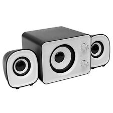Mini  2.1 Multimedia Stereo Portable USB Desktop PC Speaker C8V2 B6B1 I6X2 C3D6