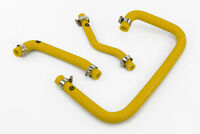 Silicone Crankcase Breather Hoses fits Land Rover Defender 300TDI Vacuum Yellow