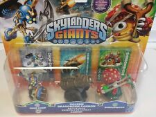 Skylanders Giants Chop Chop Shroomboom Golden Dragonfire Cannon New not played