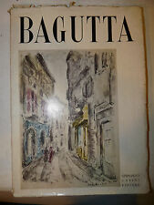 Catalogo Arte - Vellani marchi: BAGUTTA 122 tavole 1955 Casini ed. numerata