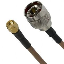 HARBOUR  M17/128-RG400  N male to SMA male Coaxial Cable      12 inch