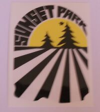 "Autocollant ""Sunset Park"""