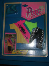 VINTAGE SINDY 1992 PAUL ACTIVE SPORTS COLLECTION MOC DRESS CLOTHES 1