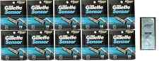 Mens Gillette Sensor Razors Blades, 100 Cartridges + Free LovingCare Packet