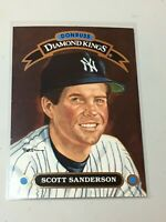 F42429  1992 Donruss Diamond Kings #DK10 Scott Sanderson Yankees