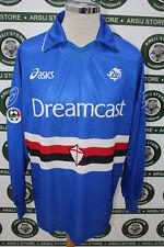 maglia calcio shirt maillot camiseta trikot FLACHI SAMPDORIA TG XL 1999/00