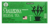 3 Ballerina Tea - Dieters Tea - 18 bags - Herbal Supplement - Natural Green