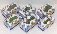 DINKY Repro Military Box 641, 643, 670, 673, 674, 676,  Unique Code 3 Designed