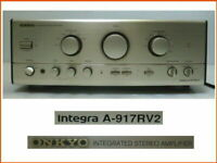 Onkyo Integra A-917RV2 Integrated Stereo Amplifier premain amplifier Japan Rare