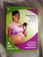 PREGNANCY FITNESS 4 COMPLETE DVD WORKOUT SET