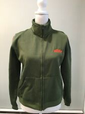 KTM Women's Fleece Jacket Sweater Olive Orange Large