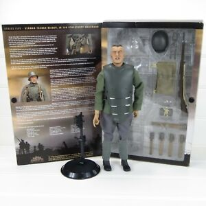 "1/6 WWI GERMAN TRENCH RAIDER - BAYONETS & BARBED WIRE SIDESHOW 12"" ACTION FIGURE"
