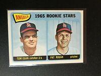 F65686  1965 Topps #486 Rookie Stars/Tom Egan RC/Pat Rogan RC ANGELS