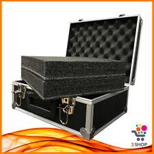 Flight Case per dj Microfoni Wireless Valigetta porta Cavi Accessori Imbottita