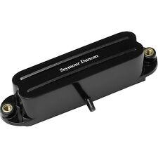 Seymour Duncan SHR-1b Bridge Hot Rails for Strat Guitar Pickup Black 11205-02